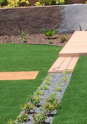 Comprehensive renovation of low maintenance garden