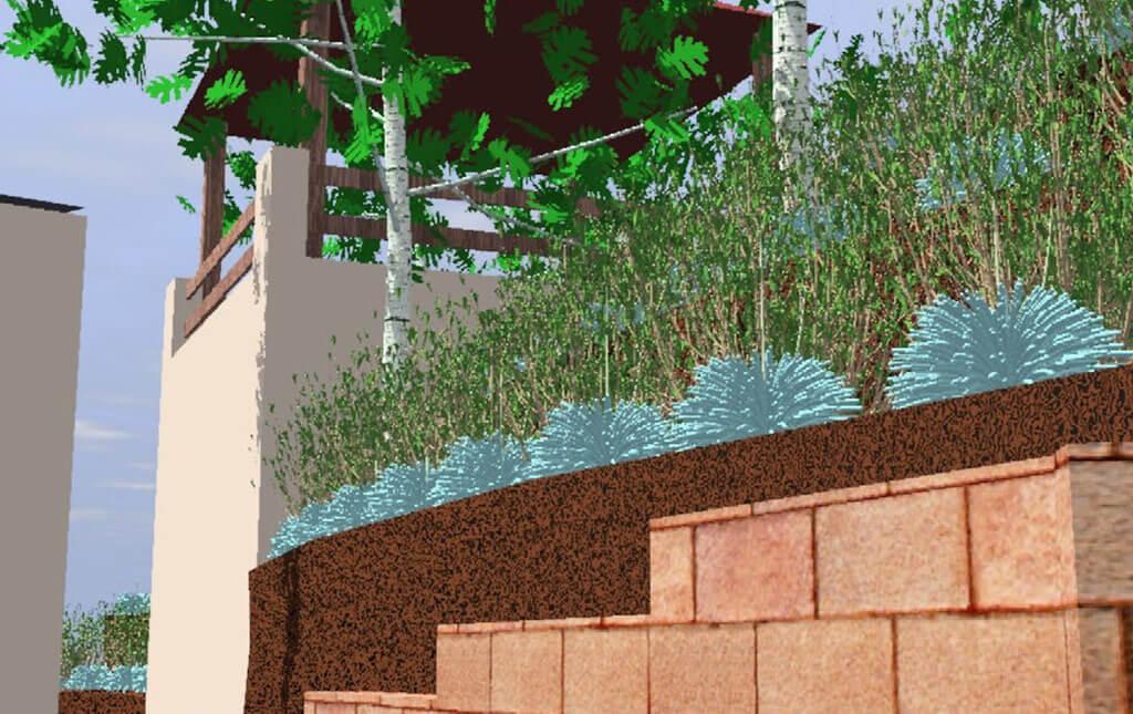 Dise o en 3d de jardines jardiner a del valles - Diseno jardines 3d ...