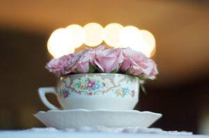 flores comestibles en tés o infusiones
