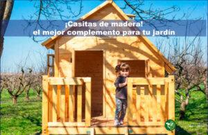 casitas de madera el mejor complemento para tu jardin