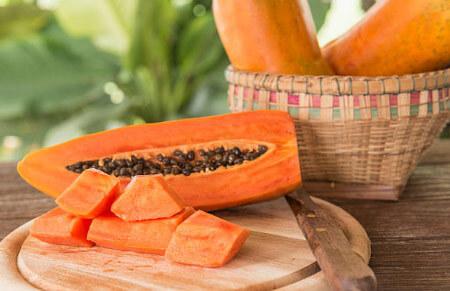 frutos exóticos papaya