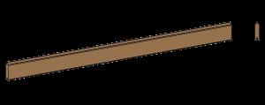 Lama relleno madera pino