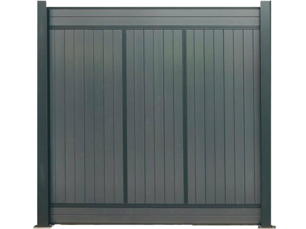 Panel vertical de madera composite