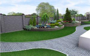 ahorro de tiempo y dinero en jardín de bajo mantenimiento