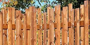 Valla madera jardín arizona