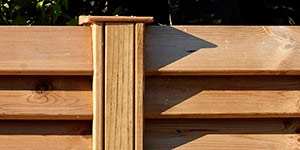Valla madera jardín cancale