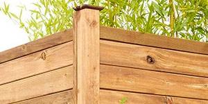 Valla madera jardín milano