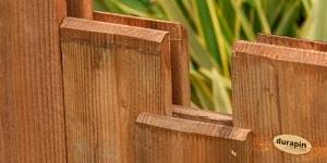 Valla madera jardín nymphea