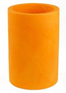 Maceta vondom cilindro alto naranja