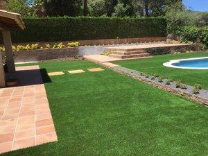 Reforma integral jardín en l'Ametlla del valles